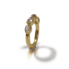Yellow Gold Moonstone Ring by Scarab Jewellery Studio