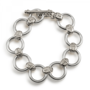 scarab silver bracelet - Silver Circle Bracelet with Scarabs - Scarab Jewellery Studio