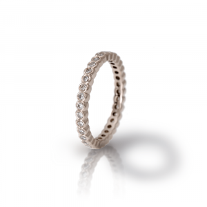White Gold Diamond Eternity Band Model RG94 - Scarab Jewellery Studio