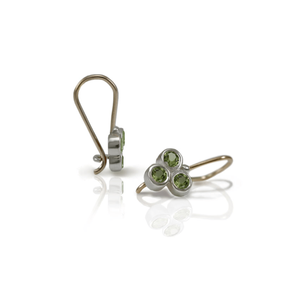 earrings s itm silver peridot sterling gm stone earring image loading jewelry dangler is set