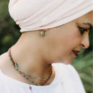 Oval Peridot Cabochon Drop Earrings by Scarab Jewellery Studio